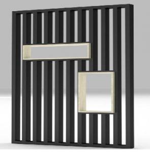 metal ve ahsap uygulamalı özel tasarım